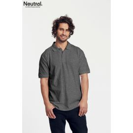 Neutral Mens Shortsleeve Polo