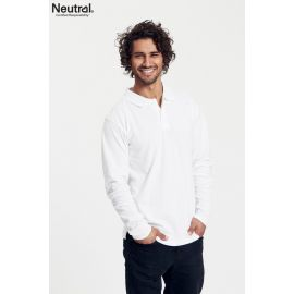 Neutral Mens Longsleeve Polo