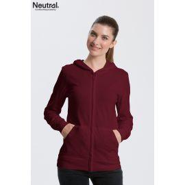 Neutral Unisex Jersey Zip Hoodie