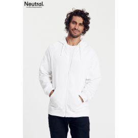 Neutral Mens Zip Hoodie