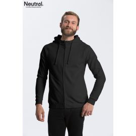 Neutral Unisex Hoodie with hidden Zip