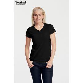 Neutral Ladies V-Neck T-Shirt