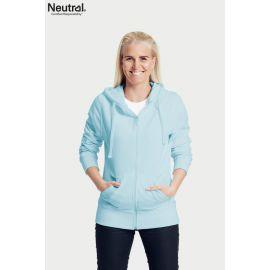 Neutral Ladies Zip Hoodie