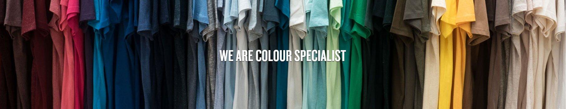 Wir sind Farbspezialist