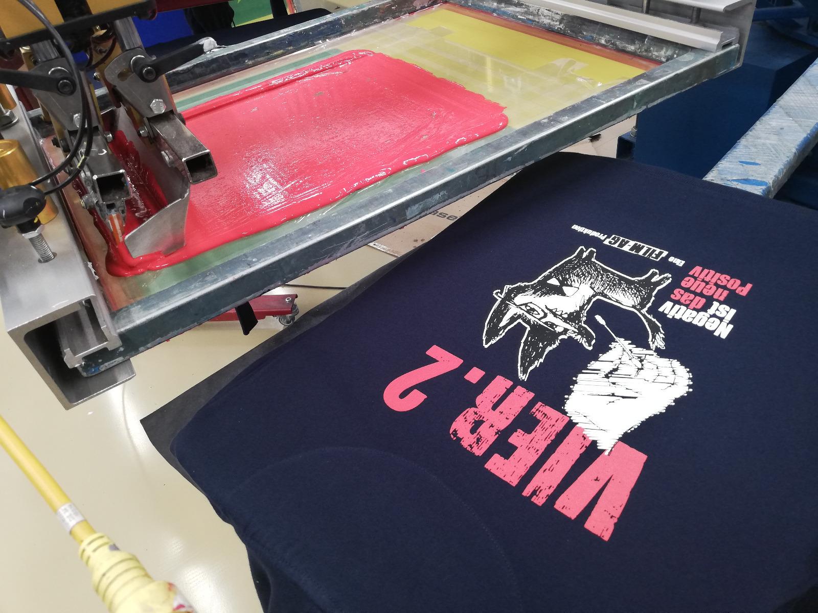 Lieblingsleiberl Direktsiebdruck Wien Textildruck